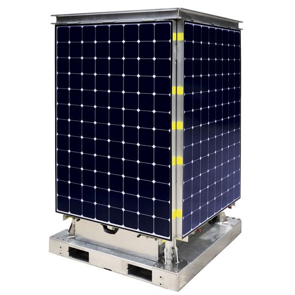 CCTV Solutions Solar Panel Closeup