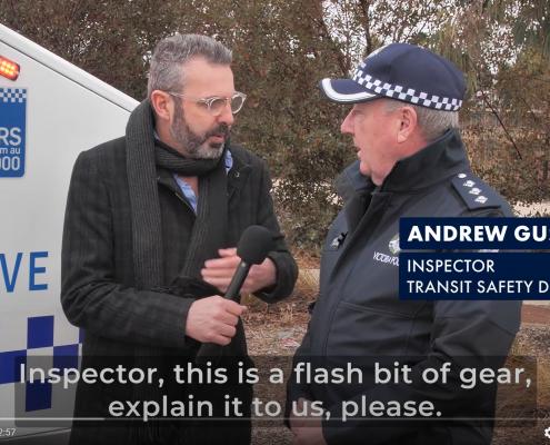 Victoria Police - New CCTV Trailer