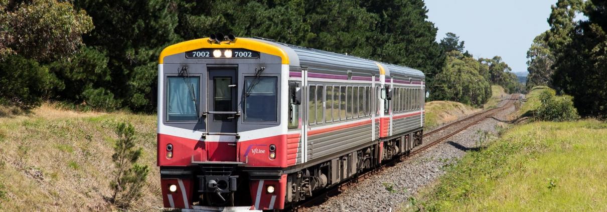 Seymour V/Line trains